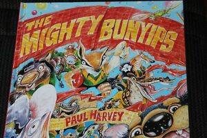 The-Mighty-Bunyips-by-Paul-Harvey-SIGNED-Large-Hard-Cover