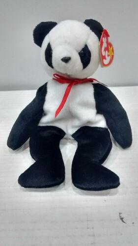 """Ty Beanie Baby /""""Fortune/"""" Panda Bear Retired 1997"""
