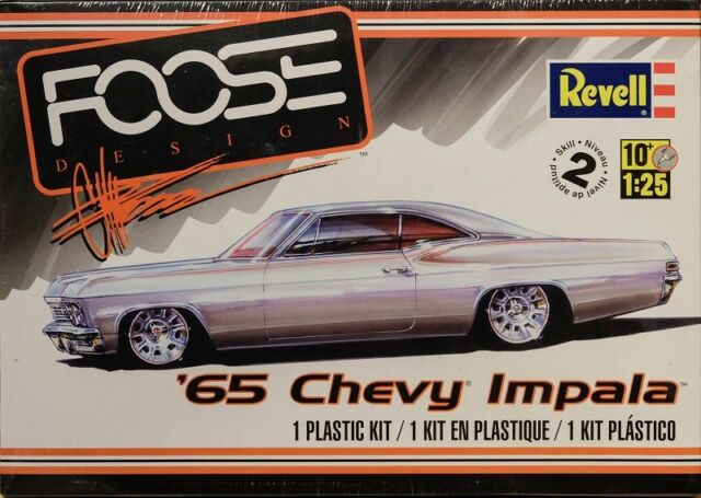 1965 Chevy Impala Foose Bausatz 1:25 Model Kit Revell 4190 Chevrolet