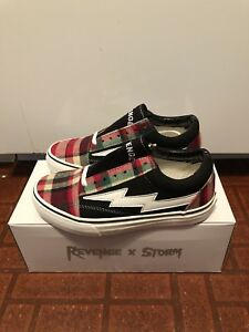Revenge X Storm II Volume 1 Vol. 1 Men s Size 5 In Plaid Black Ian ... 492b0cd9b