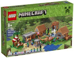 Lego Minecraft 21128 - Le Village neuf/scelle