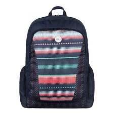 ROXY Alright Backpack Jagged Stripe Schoolbag ERJBP03112-GPF6 **FREE HARIBO