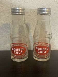 Double Cola Soda Bottle Salt and Pepper Shakers