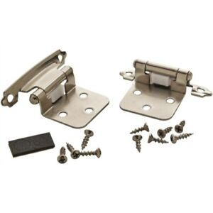 Amerock BPR342926 Self-Closing Variable Overlay Cabinet Hinge, Steel