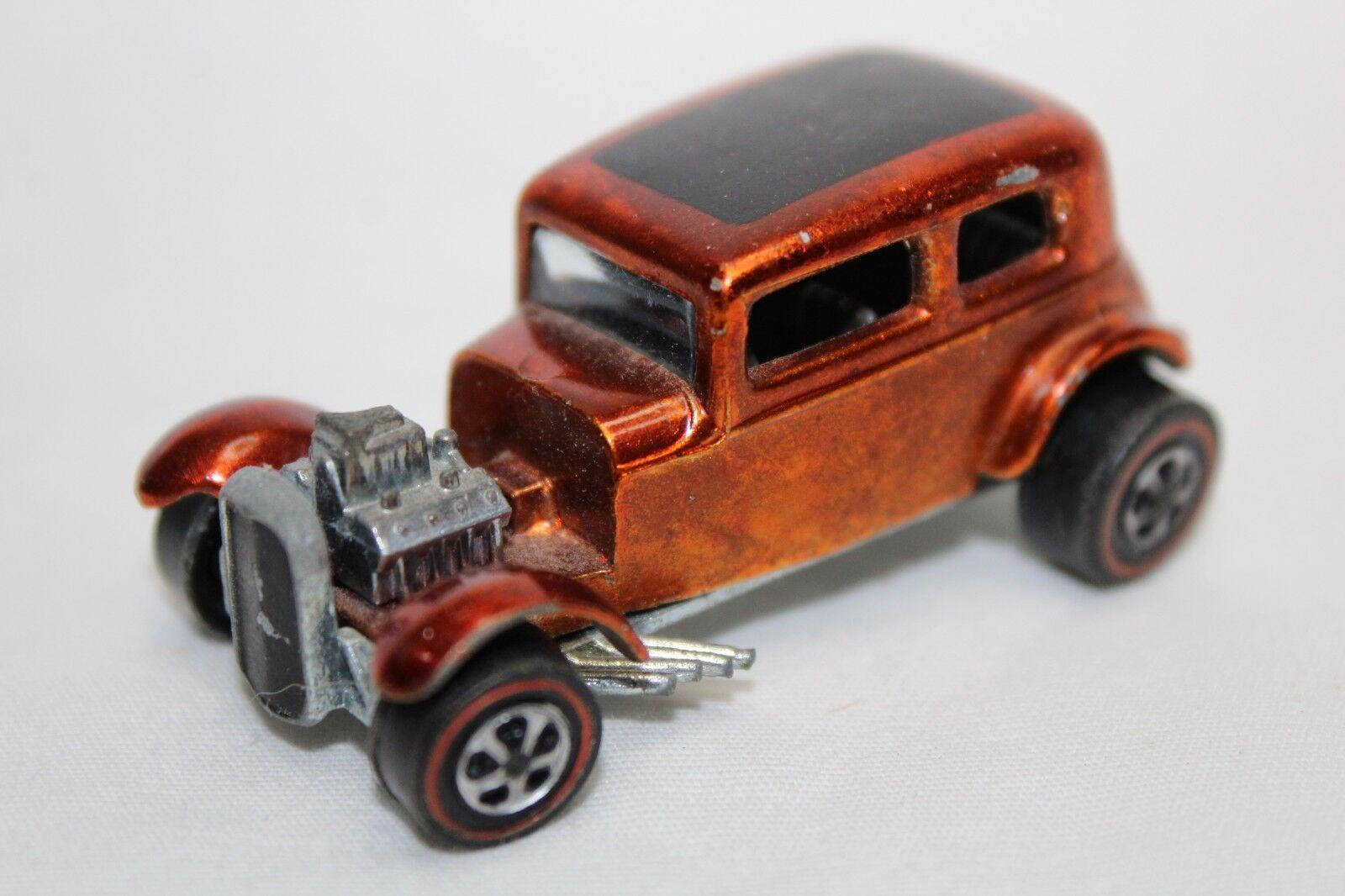 mejor moda Hot Wheels 1 64 escala 1969 líneas rojas Classic'32 Classic'32 Classic'32 Ford Vicky (naranja) - flojo  ordene ahora los precios más bajos