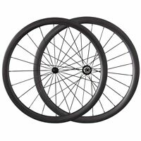 38mm Clincher Carbon Wheels Carbon Road Bike Bicycle 1380G Wheelset