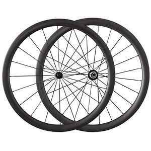 Super-Light-Road-Bike-700C-UK-Stock-38mm-Tubular-Carbon-Wheels-Bicycle-Wheelset