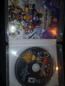 Kingdom Hearts HD 2.5 ReMIX (PS3 PlayStation 3, 2014) *Free Shipping*
