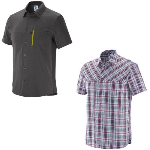 Salomon Radiant Plaid|Stretch Shirt M Herren-Outdoorhemd Funktionshemd Wanderhem