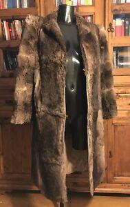 della lungo delle reali signore marrone genuine signore Colore delle giacca di pelliccia cappotto misto lunghezza wEaxWqzB