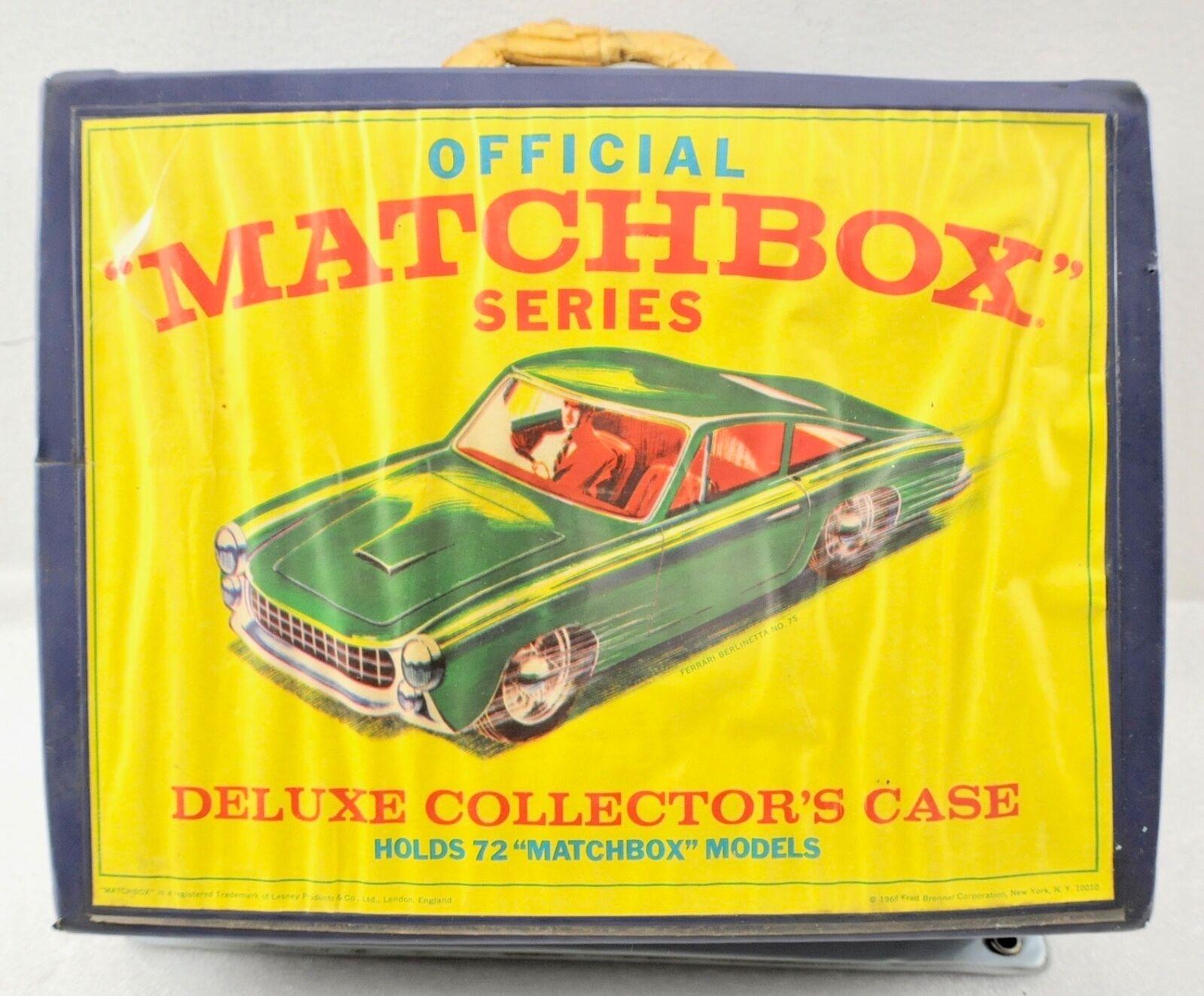 Vintage funcionarios Matchbox Serie Deluxe Cochecasa De Coleccionista