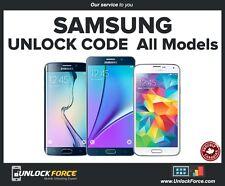 Telus Koodo Samsung Unlock Code Galaxy S8 S7 S6 S5 S4 S3 Note 5 4 2 3 Neo Core