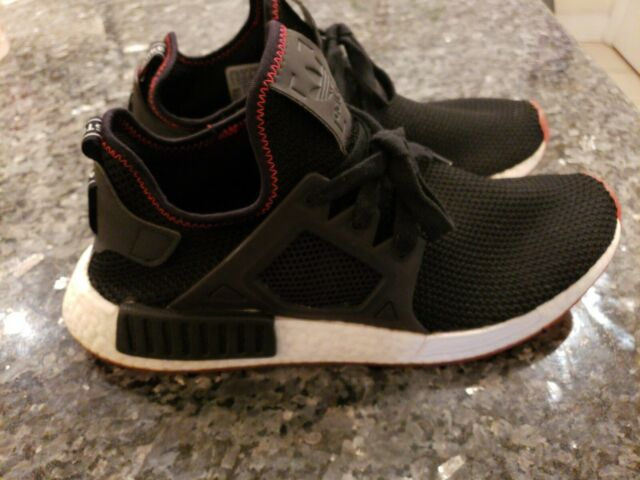 more photos 83ac2 574ae adidas Originals NMD Xr1 Bred Core Black Solar Red BY9924 Nomad Boost  Triple 9