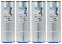 4) Unicel C-7483 Spa Replacement Filter Cartridges 81 Sq Ft Hayward Swim Clear on sale