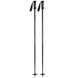 Black-Silver 110cm 5th Element Stealth Ski Poles 2020