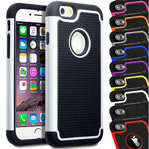 Shock-Proof-Dual-Layer-Builders-Case-Cover-For-Apple-iPhone-8-Plus-7-6s-6-SE-5-X