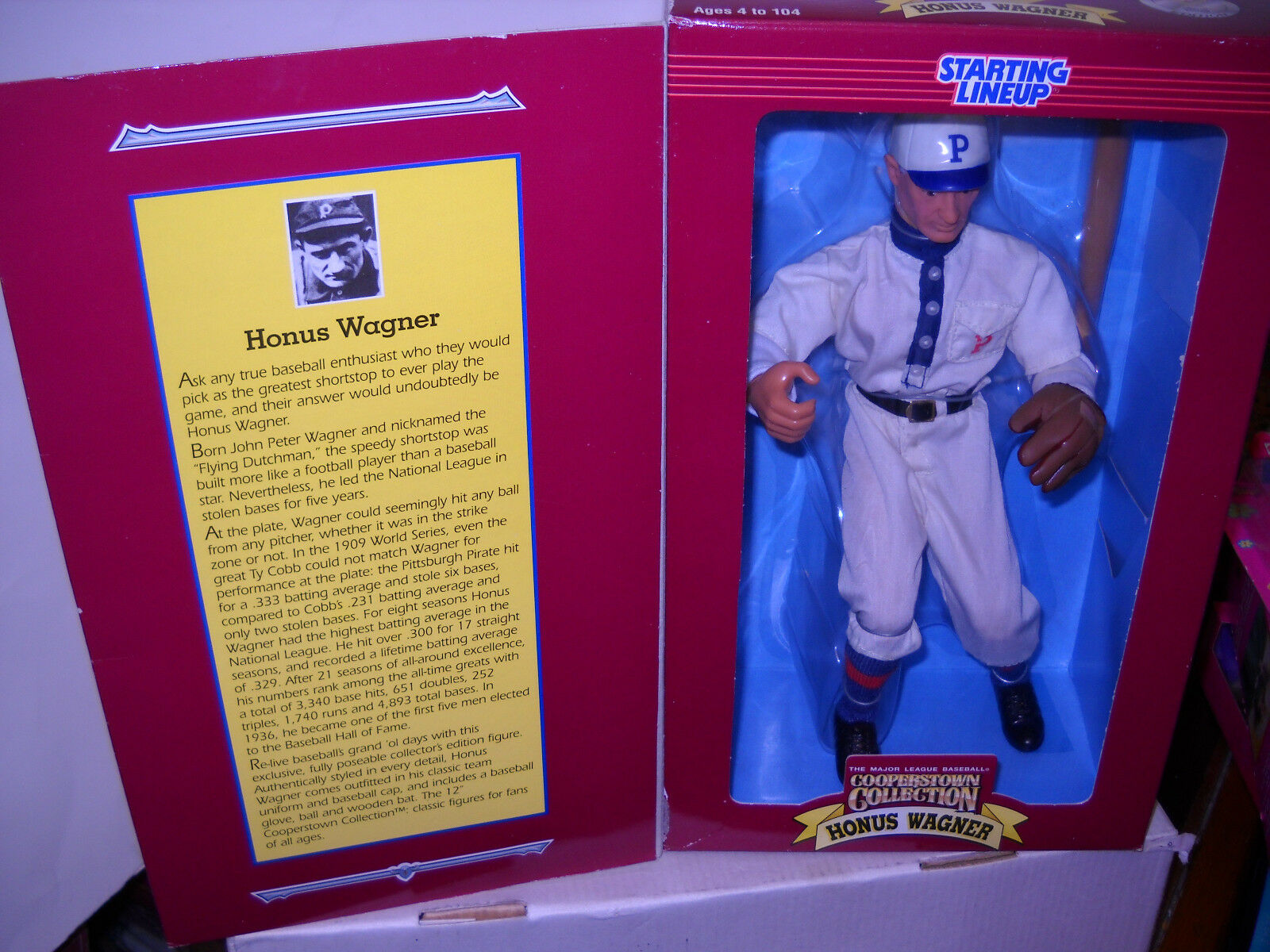 4070 NRFB Hasbro Starting Lineup Baseball 12