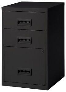 3-Drawer-A4-Filing-Cabinet-660H-x-400W-x-400D-mm-colour-black-3-draw
