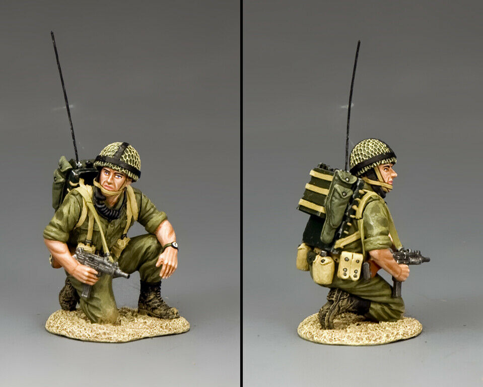 KING & COUNTRY ISRAELI DEFENSE FORCE IDF006 ISRAELI RADIO OPERATOR MIB