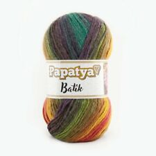 Grey White Gradient Cicibebe Baby Batik Yarn 100g wool crochet knitting DK acryl