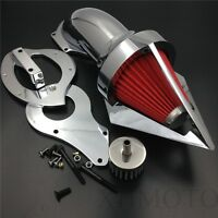 Spike Air Cleaner Kits Filter For Honda Shadow 600 Vlx600 1999-2012 Chrome