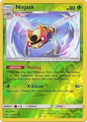 4x Pokemon SM Lost Thunder Whitney #193 Uncommon Near Mint