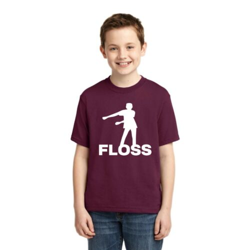 Victory Royale Floss Dance Boys Gaming T-Shirt Funny Video Game Humor Tee