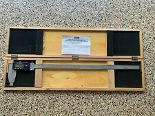 Fowler 54 100 024 1 Digital Caliper 0 24600mm Range 0005001mm Stainless