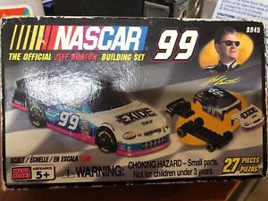 Image Is Loading NASCAR JEFF BURTON CAR 99 Amp GARAGE MEGA