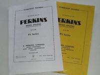 Perkins P3 Series Diesel Workshop Manual, Paper Copy Of The Full Service Manual