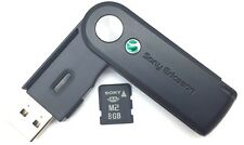 Genuine SONY 8GB M2 Memory Card with Sony Ericsson CCR-70 M2 USB Card Reader