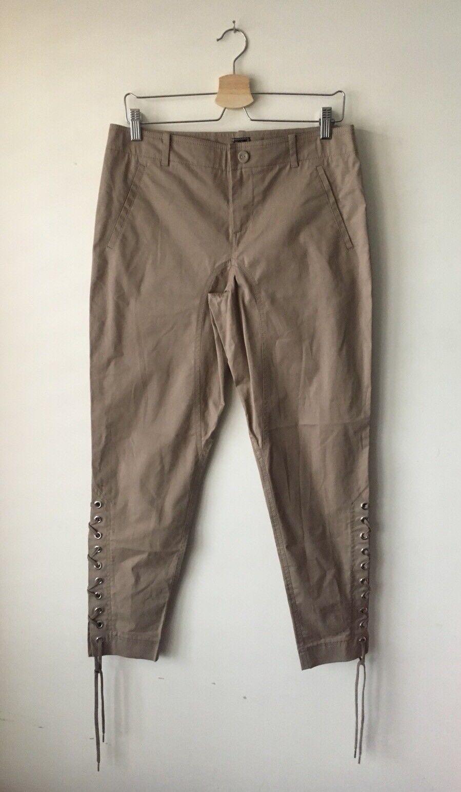 Jean Paul Gaultier Laced Trousers Size