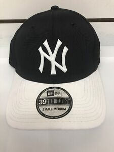 New-Era-39thirty-New-York-Yankees-Hat-Fitted-MLB-Cap-Size-S-M
