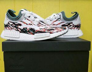 7d1705d26a7f5 NEW Men s Adidas NMD R1 Primeknit Datamosh SneakersnStuff BB6365 ...