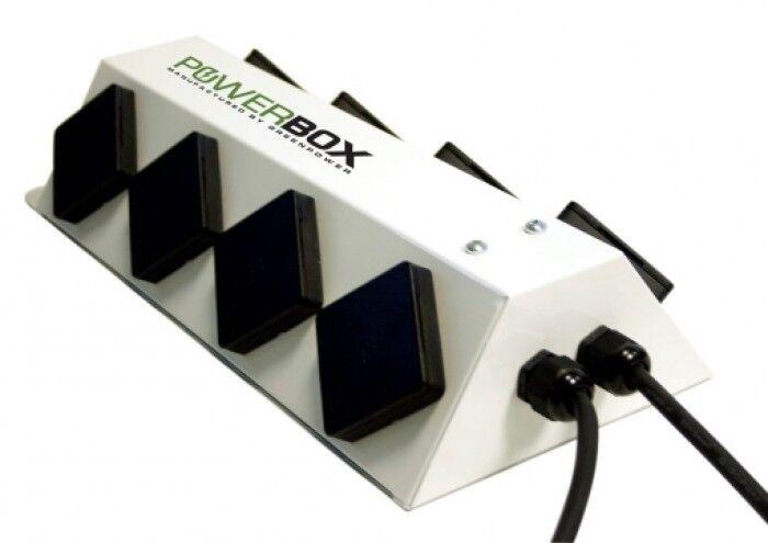 verdePower que se ha PowerBox 6 Camino verde energía de potencia Caja Hidroponía
