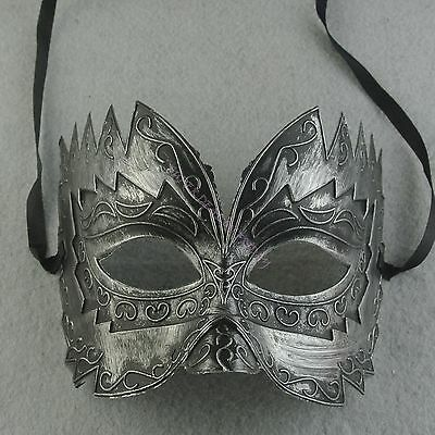 Black Half Face Mask Hunting Elegant Masquerade Gras Costume Mask