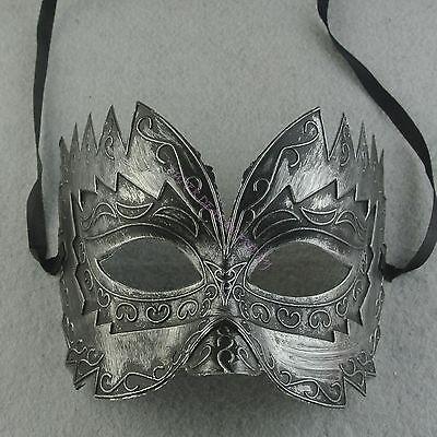 Black Half Face Mask Hunting Elegant Masquerade Gras Costume Mask