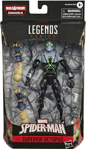 "Marvel Legends Spider-Man Superior Octopus Demogoblin BAF 6/"" Action Figure"