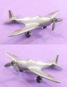 Avion Aluminium / Jouet Ancien