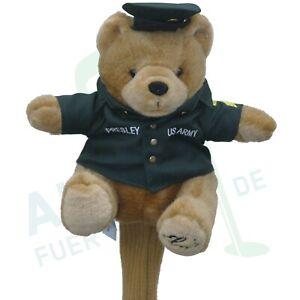Schlaegerhaube-Elvis-Presley-034-Army-Bear-034-fuer-Driver-Fairwayholz