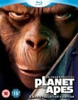 Planet of The Apes Blu-ray Region B PAL 40 Year Evolution 5 Movie Collection