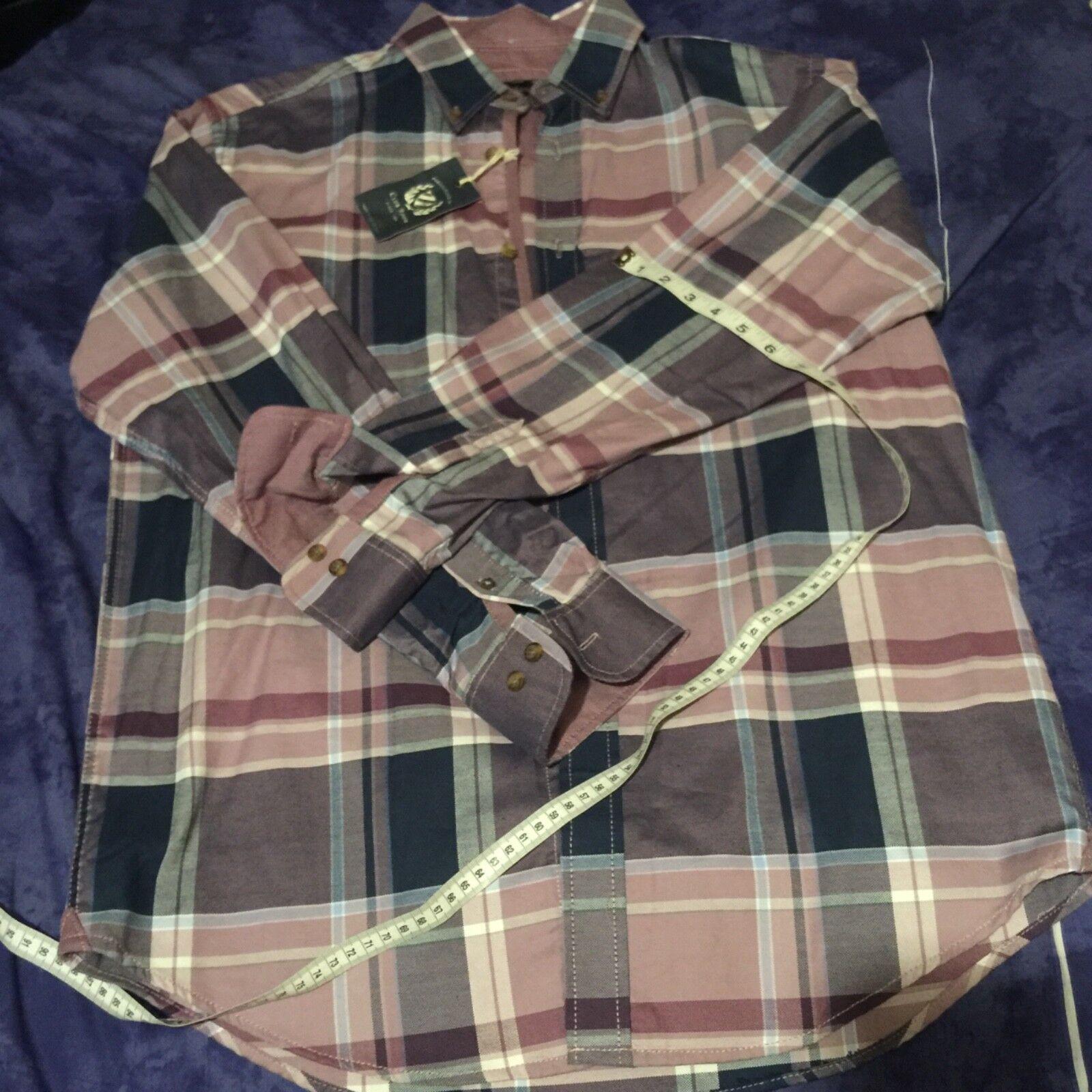 Men club room shirt (S) regular fit