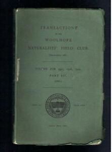 5da0515ca6be9 Image is loading Transactions-of-the-Woolhope-Naturalists-039-Field-Club-