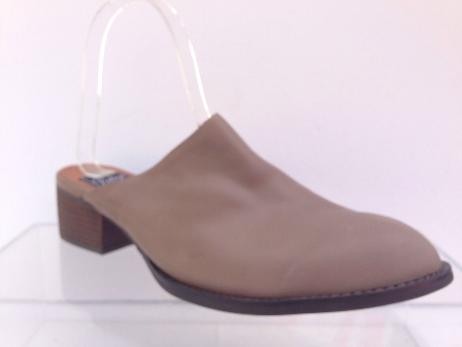 Jeffrey Campbell Vinton Mules Leather Shoe Size 10.5 Ankle Boot Bootie