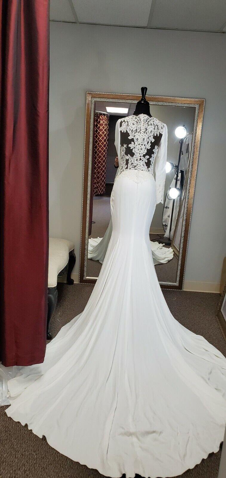 Pronovias Sample Wedding Dress Size USA 08