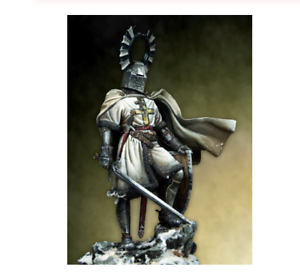 1 18 Resin Figure Model Kit Ancient Teutonic Knight Unassambled Unpainted 90mm