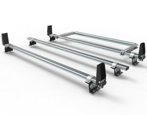 Ford Transit Custom Roof Rack bars  3 bar with stops and rear roller  AT86LS+A30