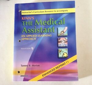 Kinn-039-s-the-Medical-Assistant-an-Applied-Learning-Approach-Instructor-039-s-Res-Ed-9