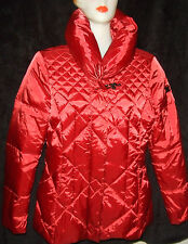 UP TO DATE/ ENDERO MANTEAU DOUDOUNE TAILLE 38 ROUGE COL MONTANT