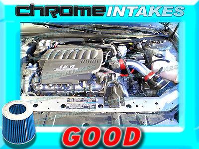 RED BLUE 04-08 PONTIAC GRAND PRIX GT1//2 GTP GXP 3.8L V6 5.3L V8 AIR INTAKE 3.5